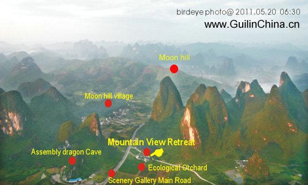Yangshuo Moon Hill Mountain View Retreat